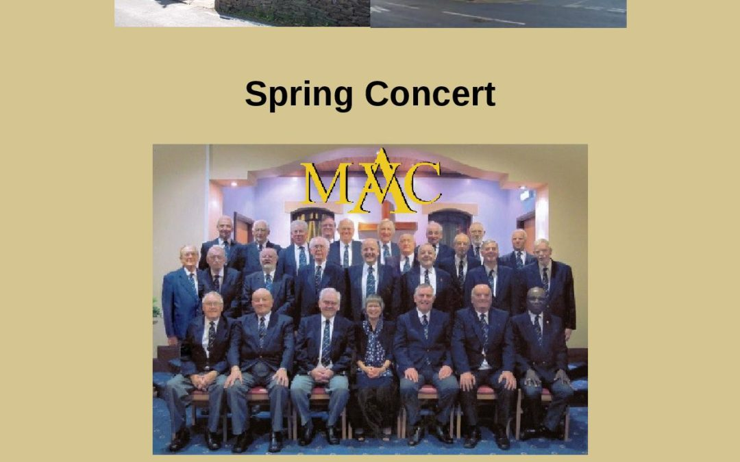 Parish Social & Fundraising Event – Spring Concert