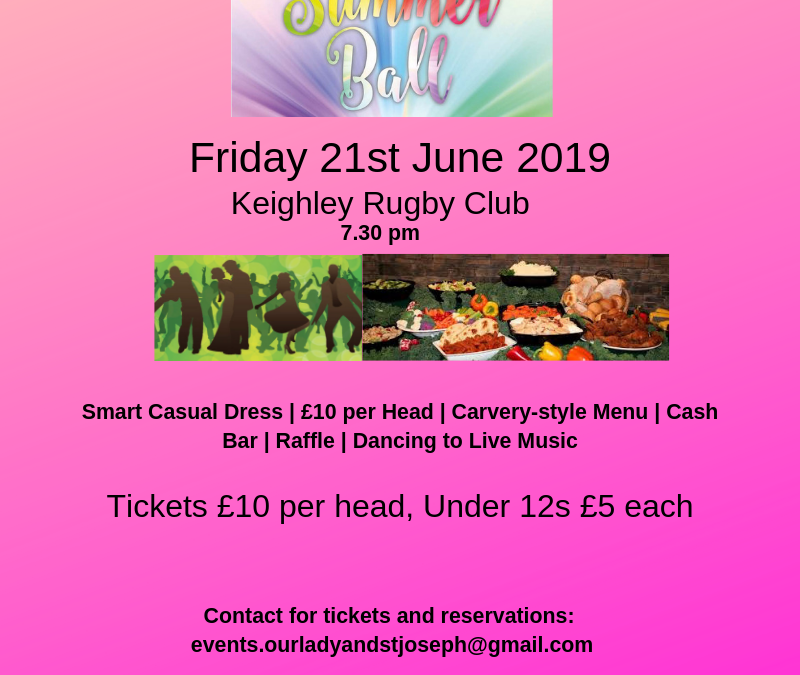Social & Fundraising Event – Summer Ball