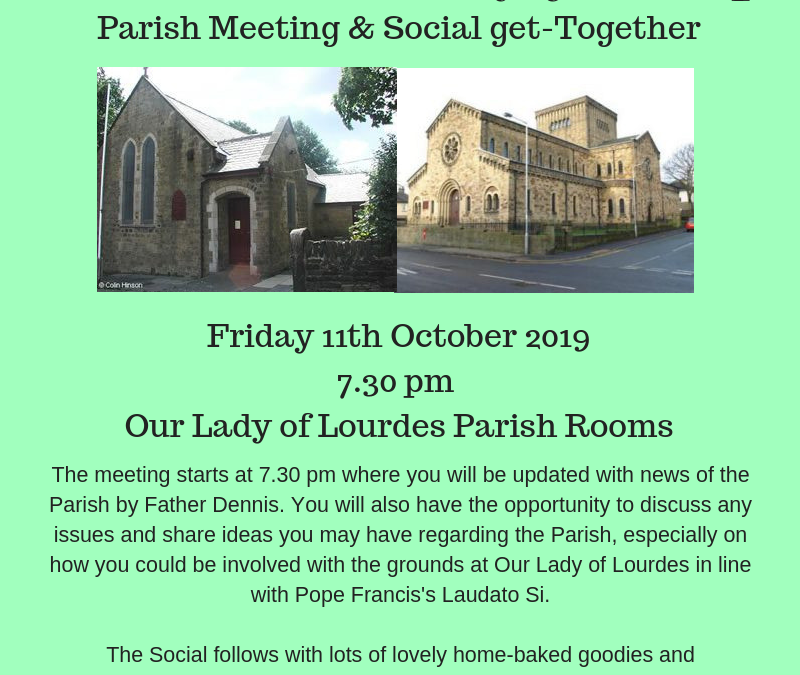 Bi-Annual Parish Meeting & Social Get-Together