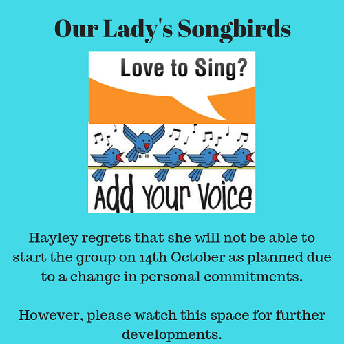 Our Lady's Songbirds