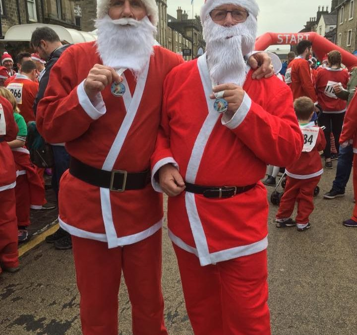 Skipton Santa Fun Run