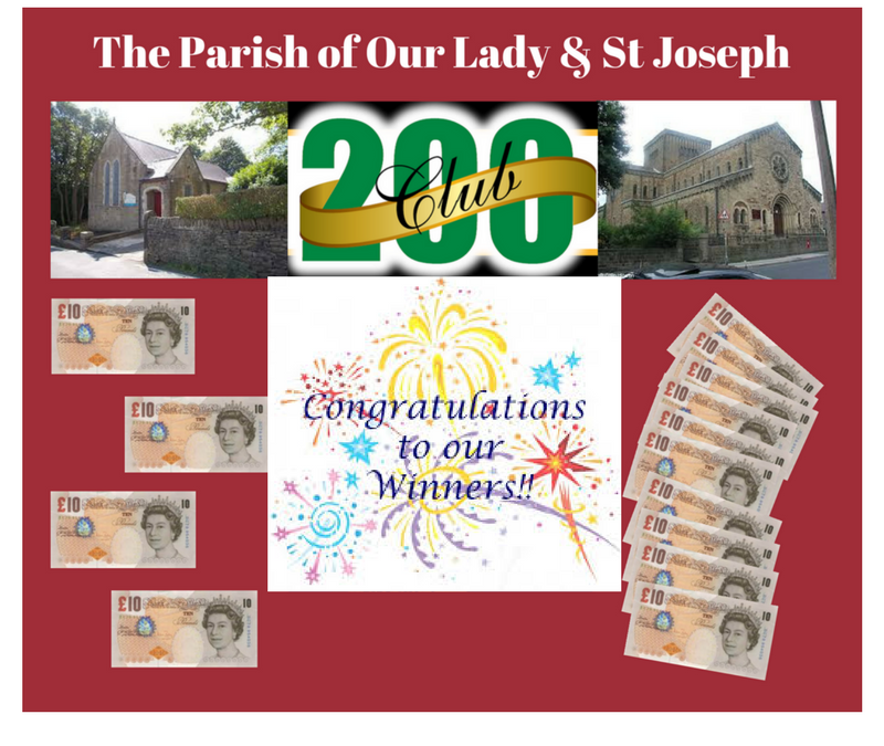 200 Club Prize Winners – June