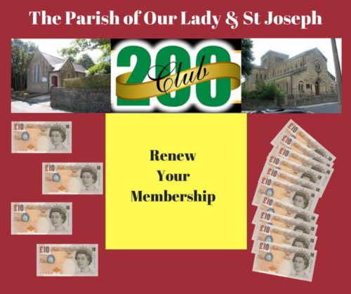 200 Club Renewals