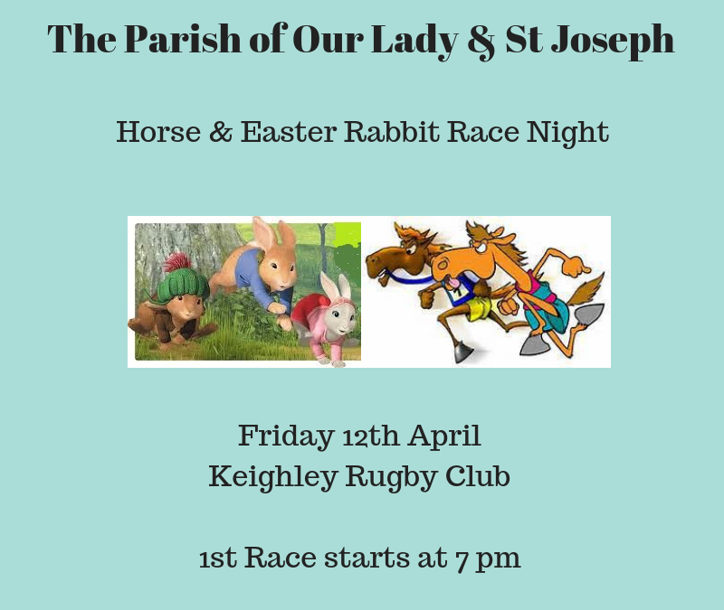 Parish Social & Fundraising Event – Race Night 2019