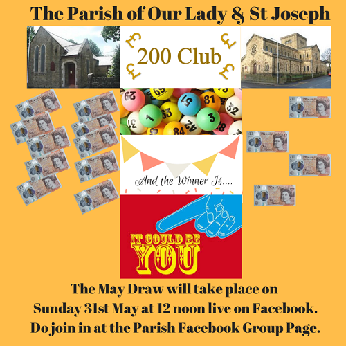 200 Club – May Draw