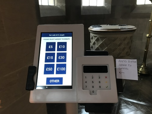 Contactless Card Payment Machine