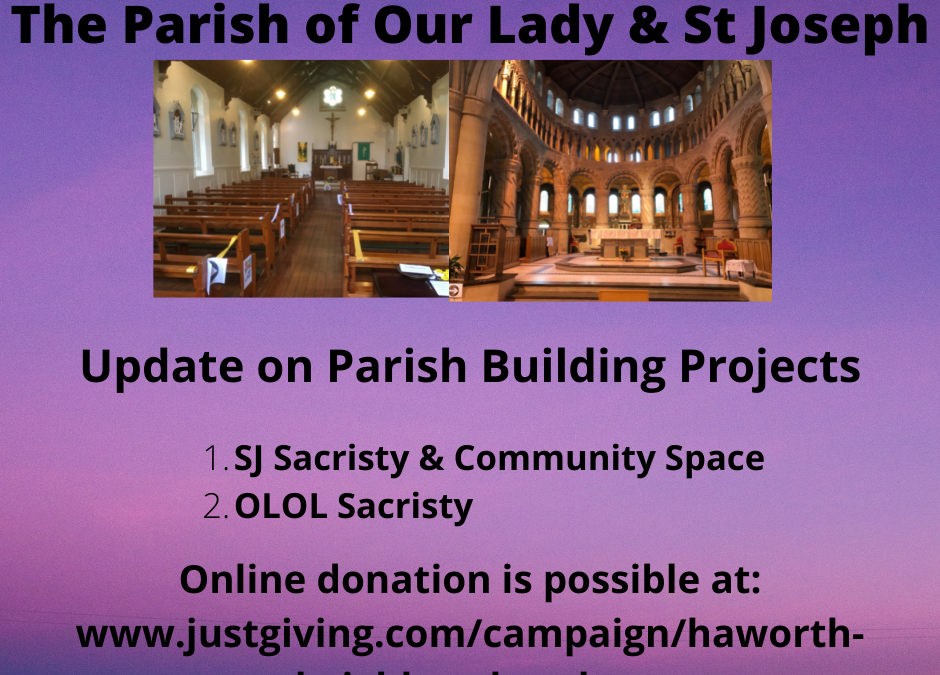 Latest Update on Parish Building Projects